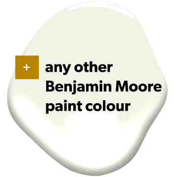 + any other Benjamin Moore paint colour